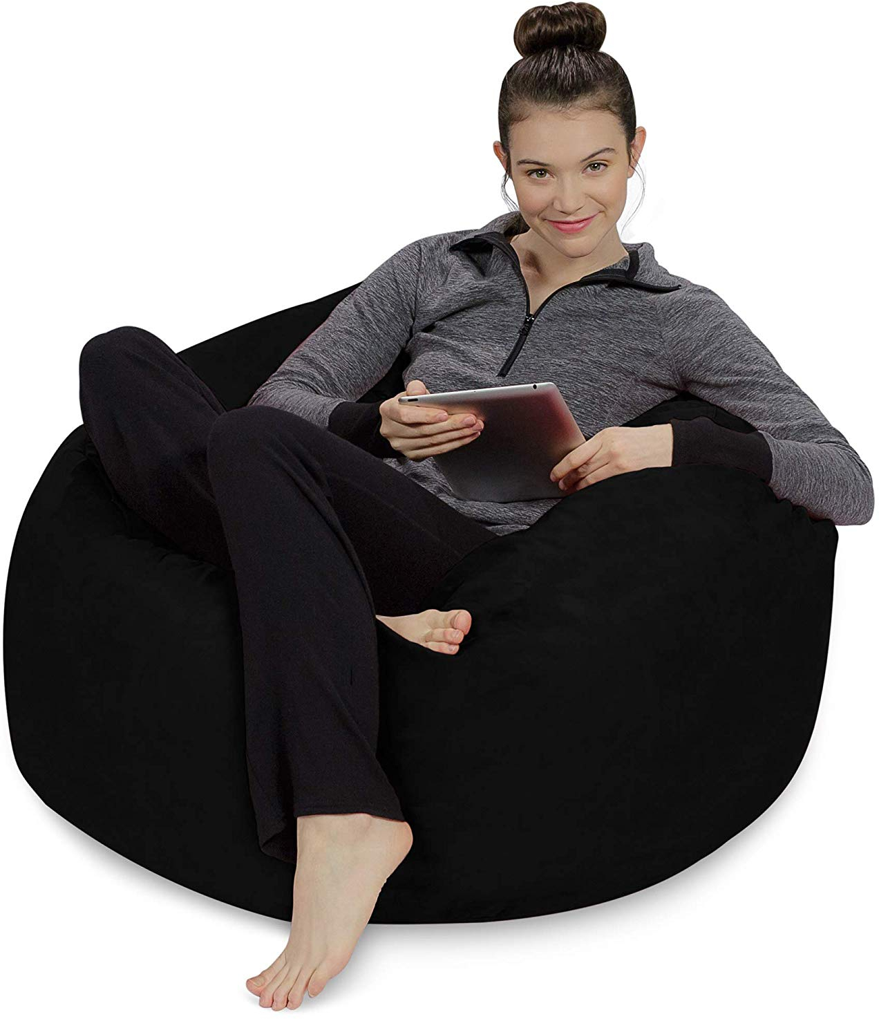 Stupendous Details About Sofa Sack Plush Ultra Soft Bean Bag Chair Memory Foam Bean Bag Chair With Dailytribune Chair Design For Home Dailytribuneorg