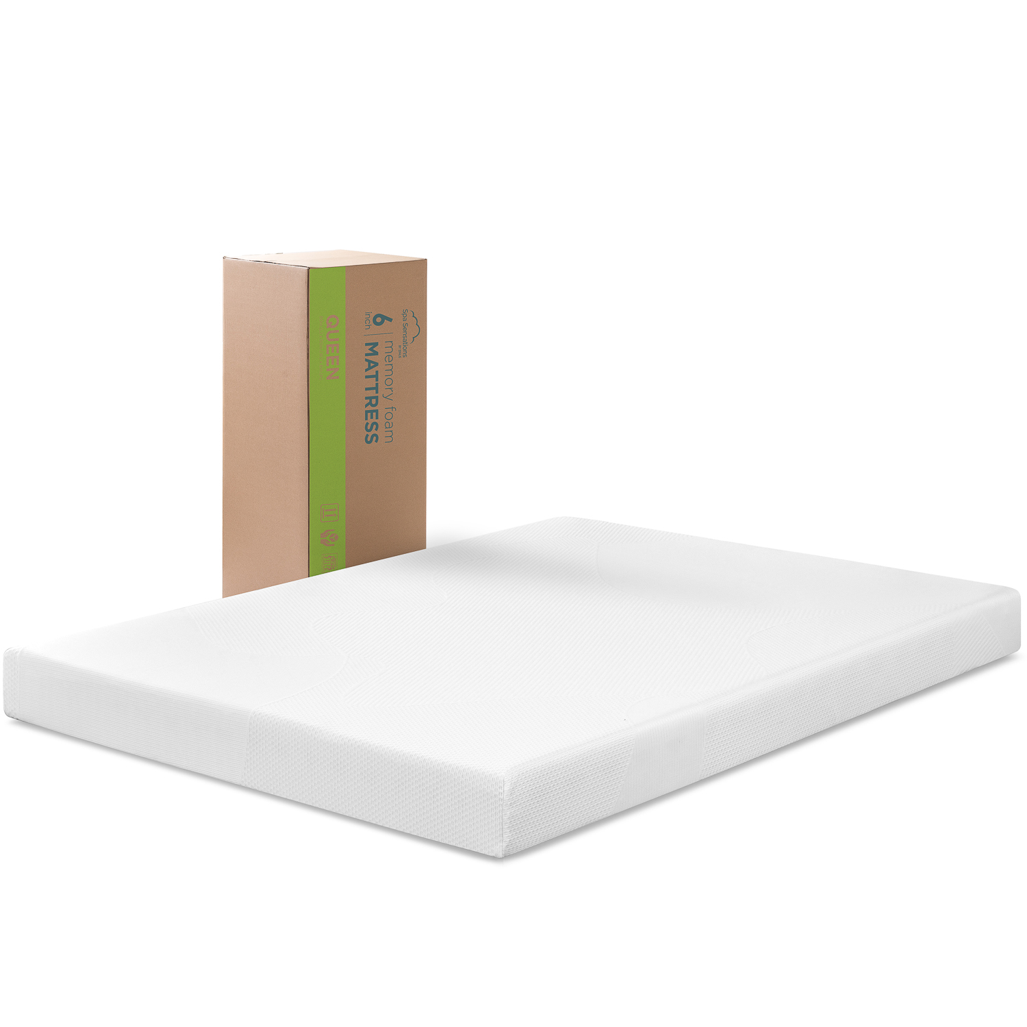 Full Size Memory Foam Mattress 6 inch Thick Bed Stay Cool ...