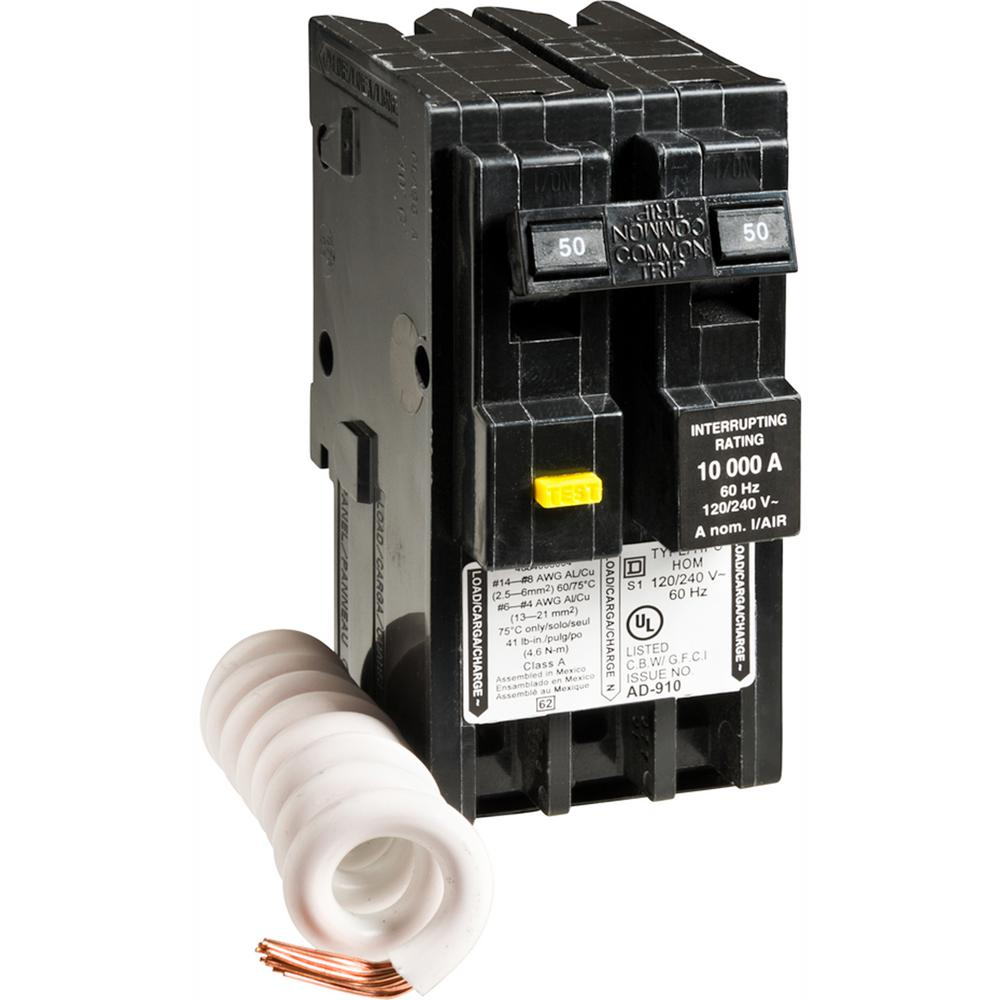 Square D Homeline Circuit Breaker Plug In Overload