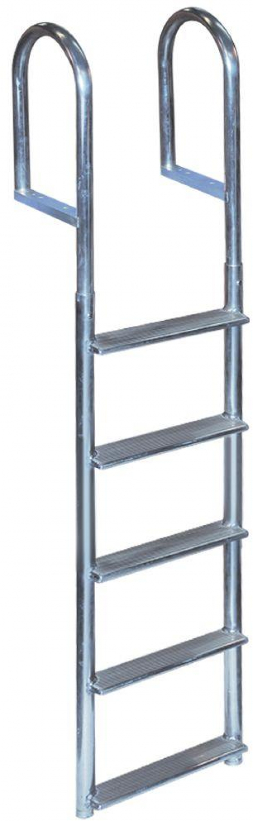 Details about Tommy Docks 5-Step Wide Rung Aluminum Dock Ladder