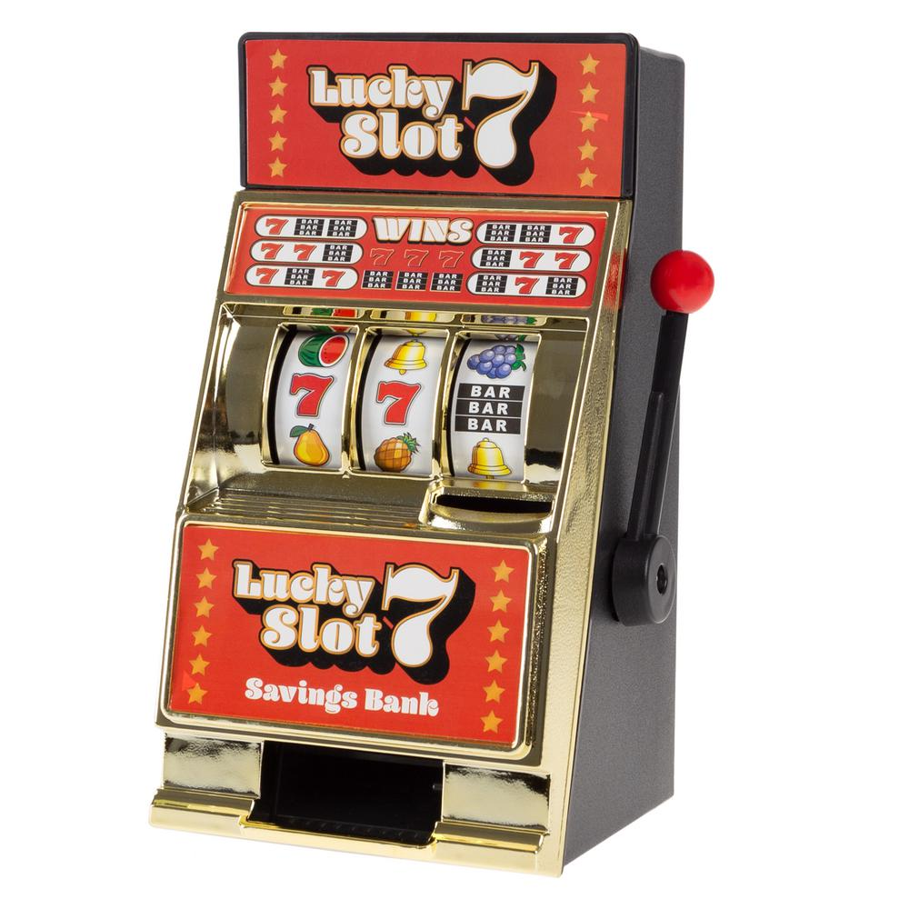 Mini Slot Machine Bank