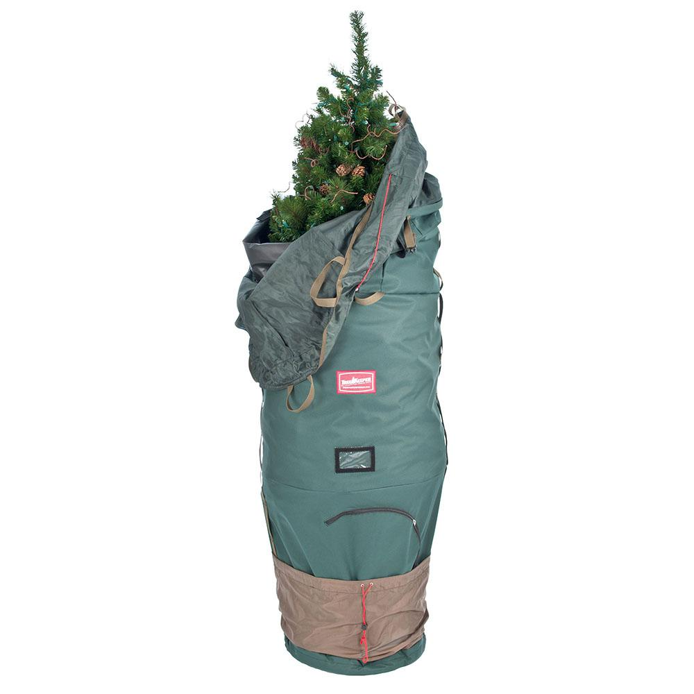 TREEKEEPER 7.5 ft Artificial Christmas Tree Upright Bag ...