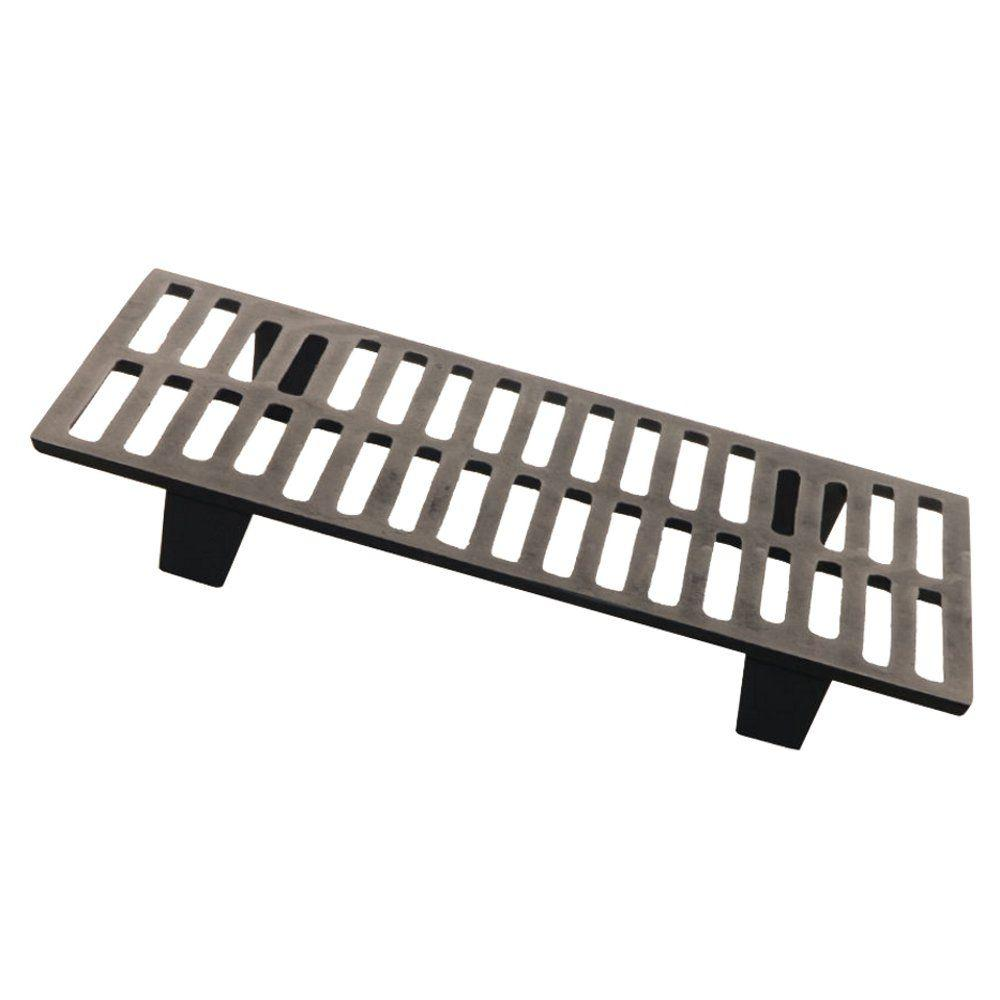 Heavy Duty Cast Iron Fireplace Grate Elevates Fire Quick Startup