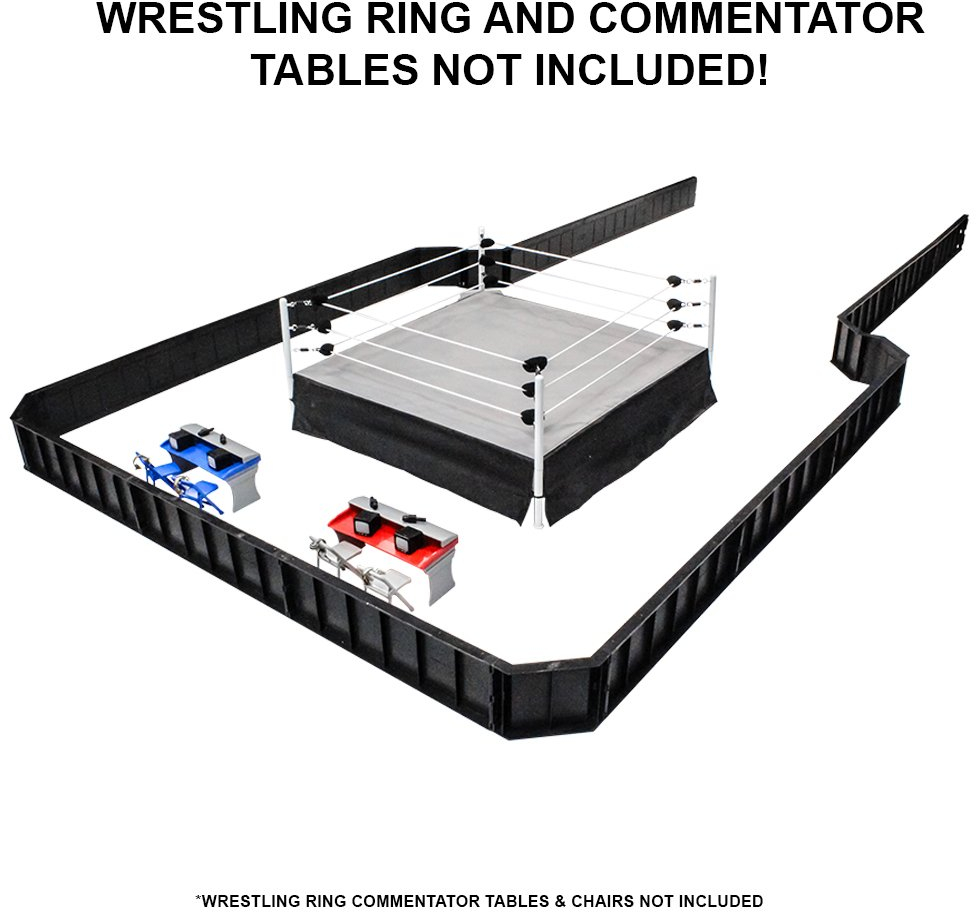 Toys with R Ultimate 32Piece Wrestling Playset for Kids  WWE Wrestler Warriors