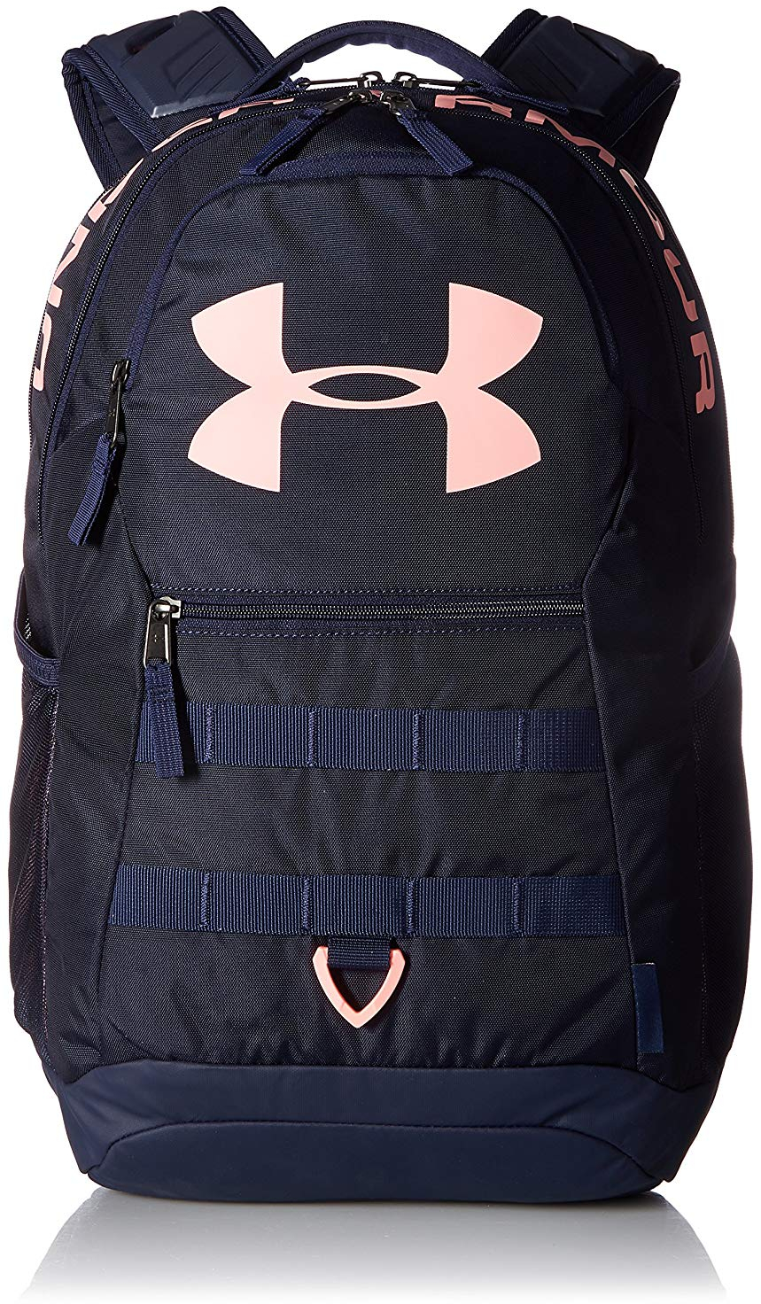 ea76547a38 Under Armour Big Logo 5.0 Backpack, Midnight Navy (410)/Cape Coral ...