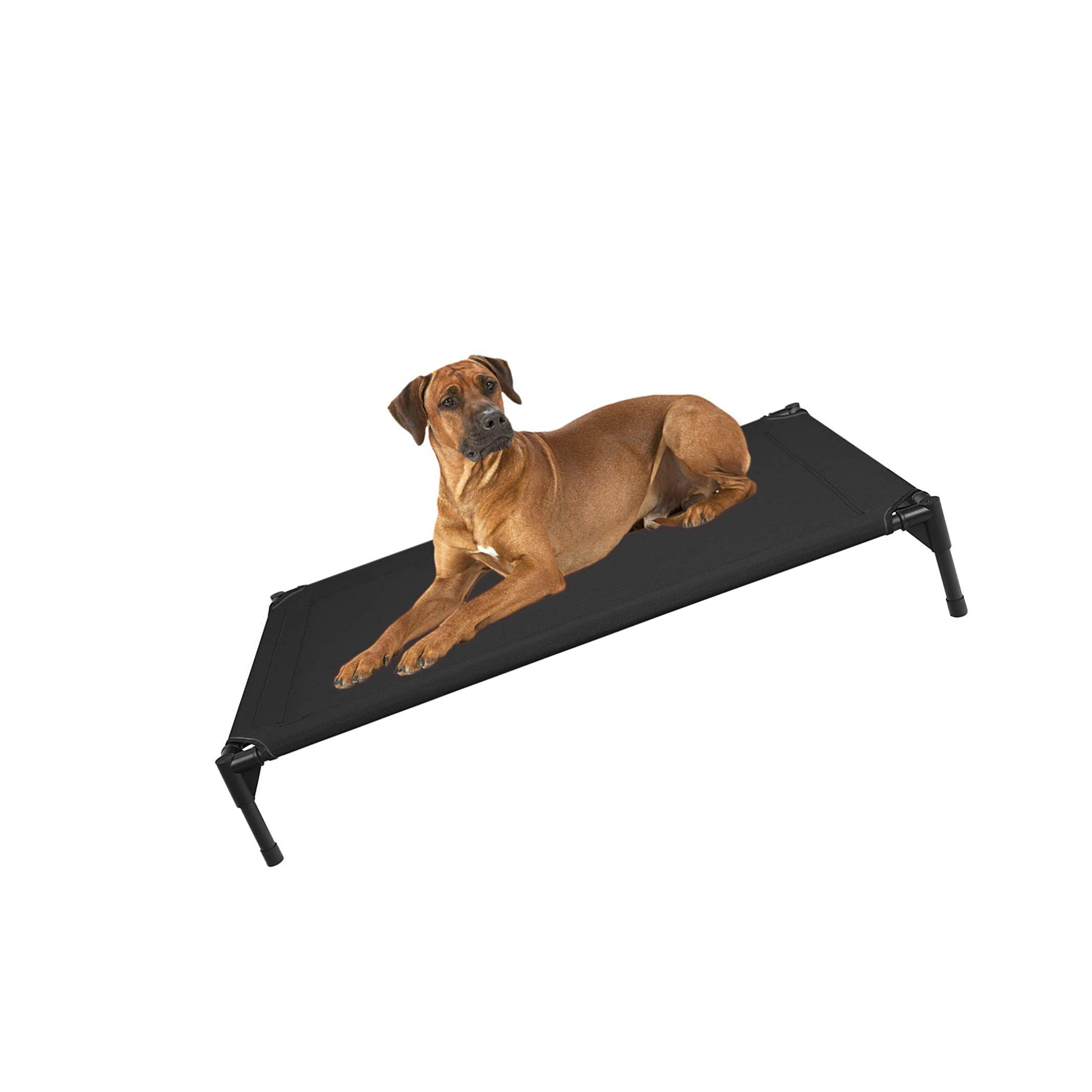 Washable /& Breathable Pet Cot Bed Mat 4 Sizes /& 7 Colors in Available Veehoo Cooling Elevated Dog Bed Replacement Cover