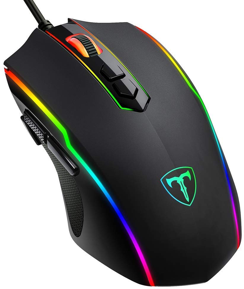 7ec6f12052d VicTsing Gaming Mouse Wired with 16.8 Million Chroma RGB Backlit, 8 ...