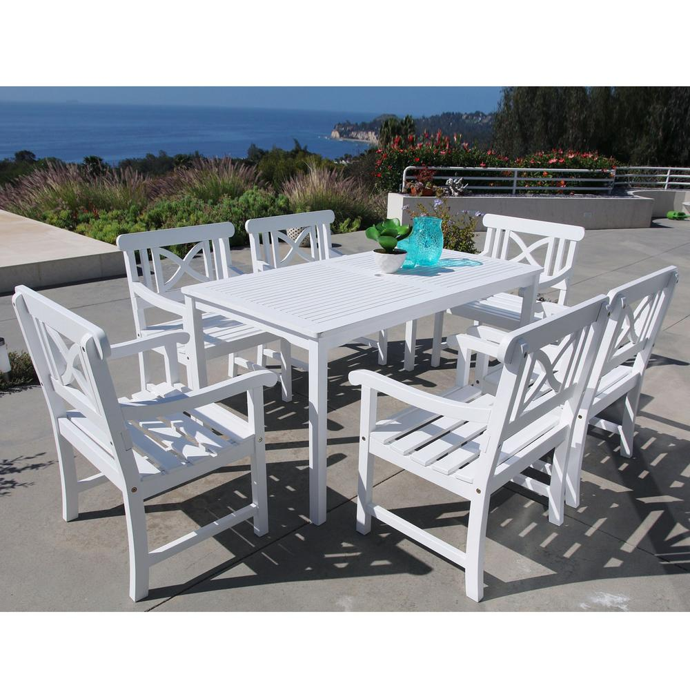 Vifah Patio Dining Set 32 In Table