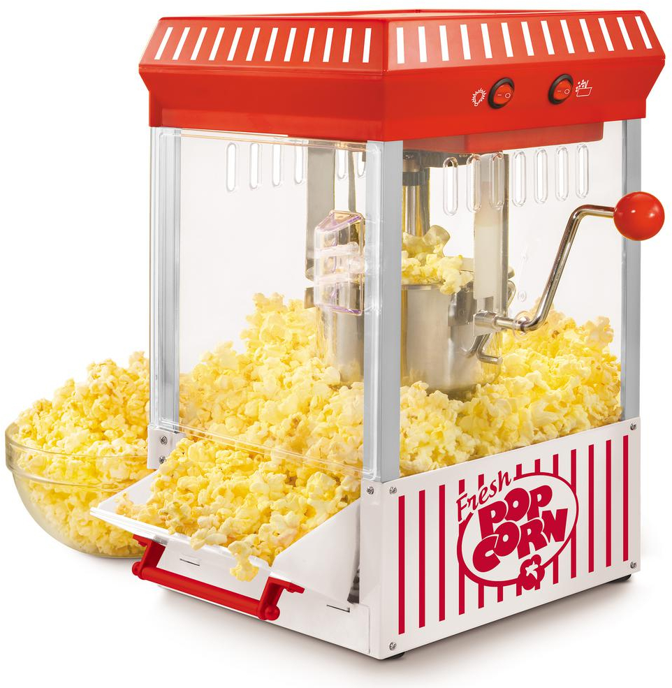 Popcorn Maker Vintage Kettle Popper Home Movie Theater Large Indoor Party New Ebay
