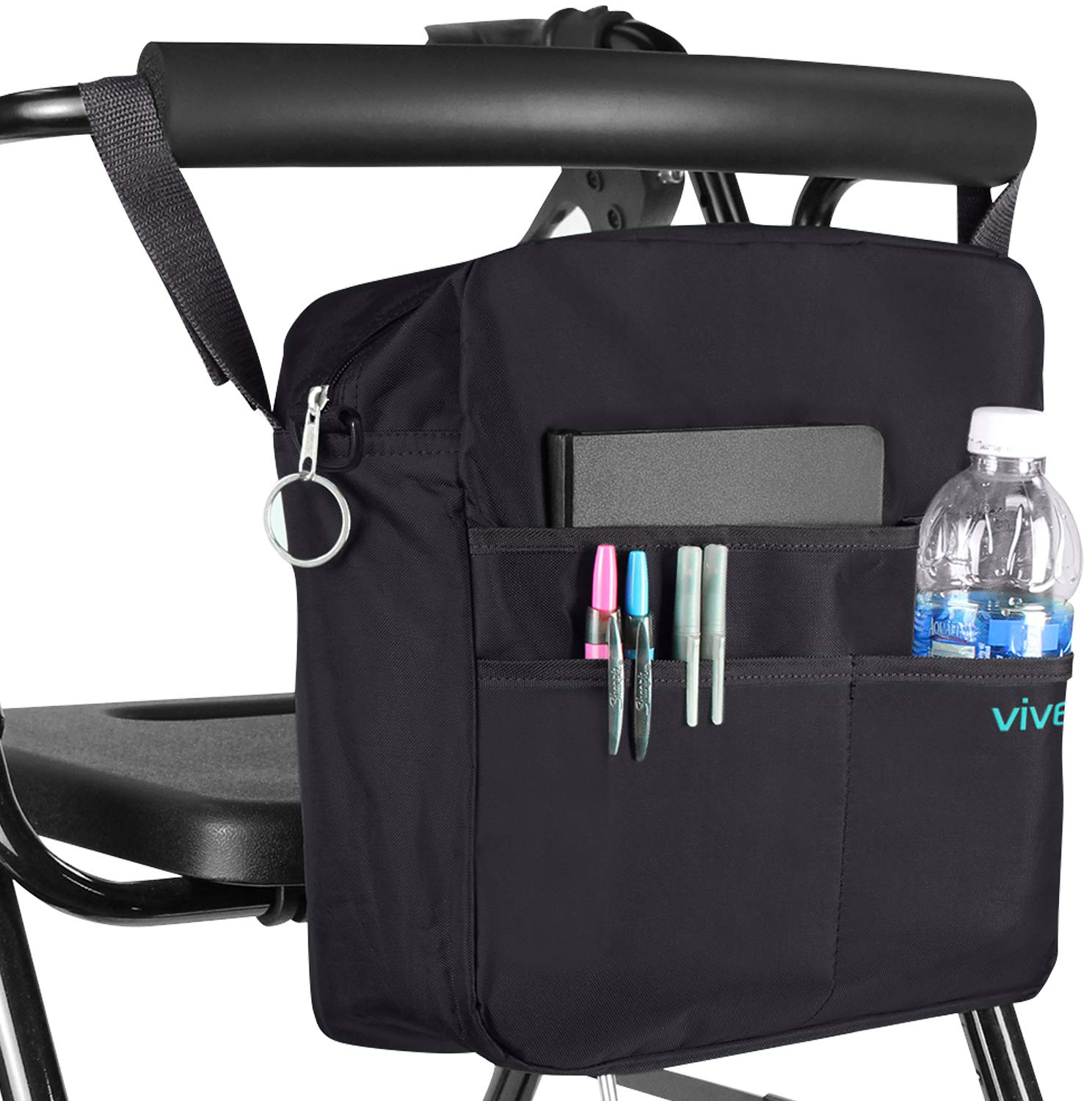c4ff890b9ee1 Details about Bag Rollator Travel Tote Accessories Large Universal Carrier  Walker Wheelchair