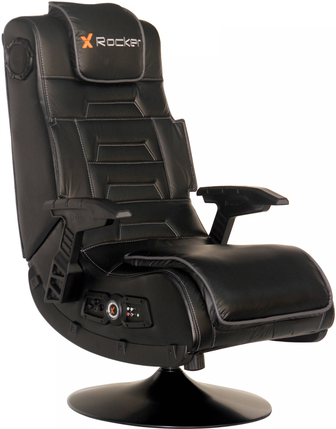 Amazing Details About X Rocker Pro Series Pedestal Wireless Gaming Chair Black 51396 Dailytribune Chair Design For Home Dailytribuneorg