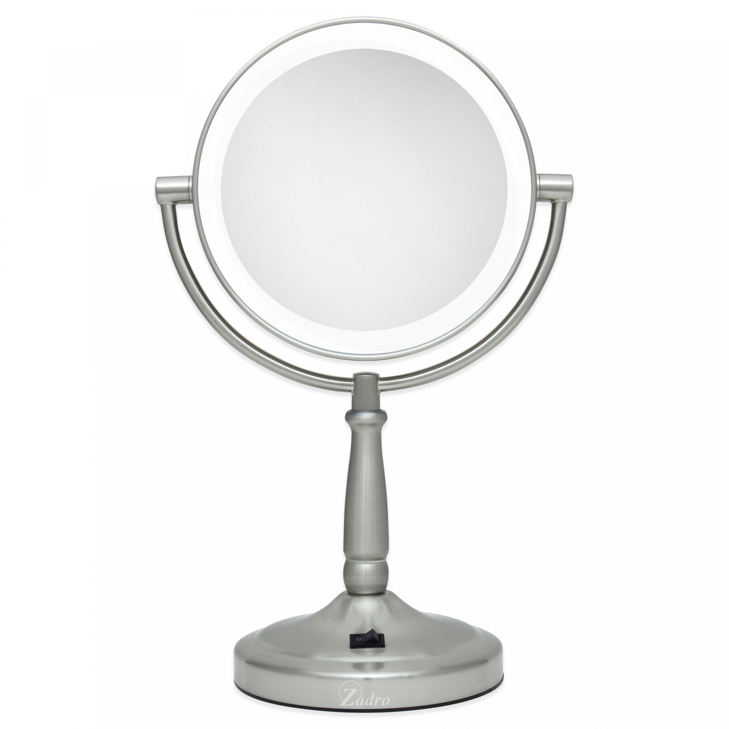 Zadro Lighted Makeup Mirror.Details About Zadro 10x 1x Cordless Led Lighted Vanity Mirror