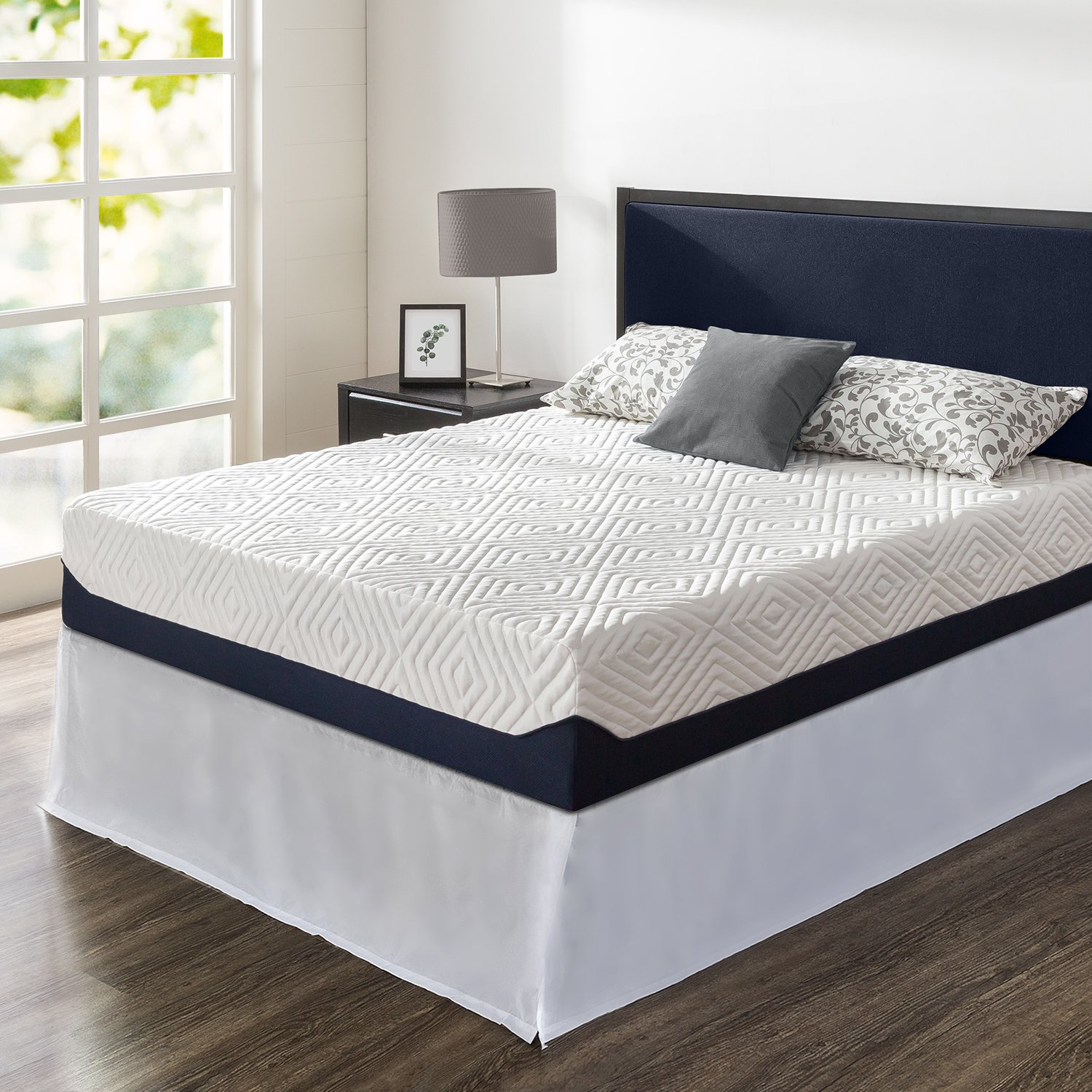 Zinus Night Therapy 12in Full Size Mattress Breathable